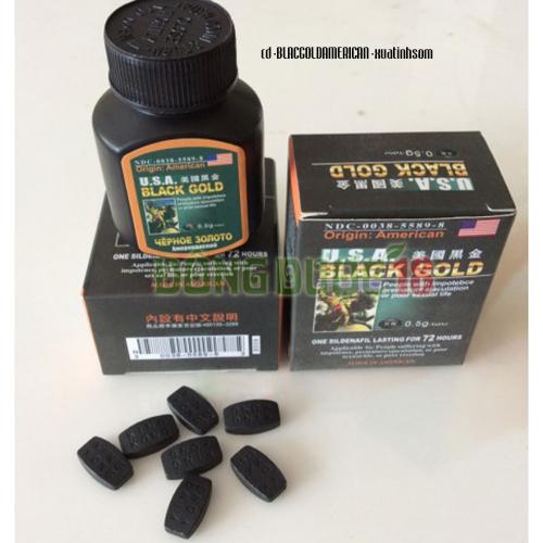 thảo dược cường dương trị yếu sinh lý Black gold