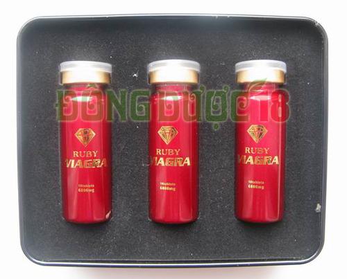 thuốc trị yếu sinh lý của mỹ ruby ngọc đỏ