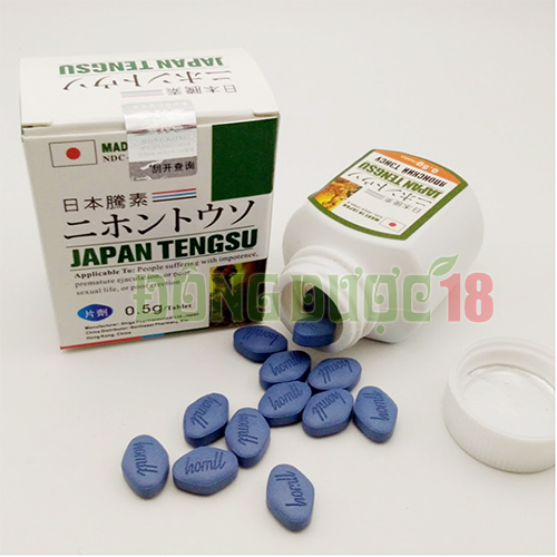 thuốc trị yếu sinh lý loại tốt của nhật tengsu japan